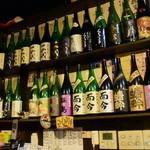 季楽酒場 おっきゃがり - 日本酒の豊富さにドキが胸胸。。。