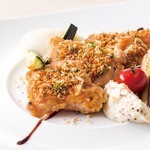 サンマルク - チキンの香草焼き グリビッシュソース