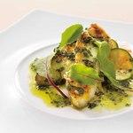 サンマルク - 白身魚のポワレ バジルバターソース