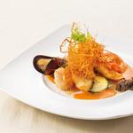 サンマルク - 南仏風魚介類のグリエ
