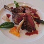 ブラッセリー ブルゴーニュ - 料理写真:仔羊赤ワインソース