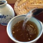 しもさか - 蕎麦湯