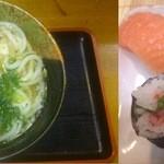 すし広 - カスうどん定食880円