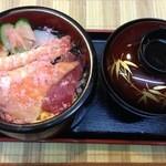 すし広 - チラシ寿司定食1000円
