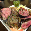 BARU 竹末 - 料理写真:「アルゼンチン式 肉BBQ盛合わせ チミチュリソース」4500円