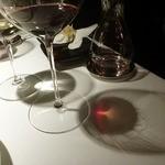 Baume - ワイングラス、ワイングラスの位置も拘りが・・