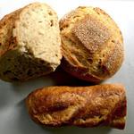 MAHL ZEIT - 料理写真:カンパーニュ、コンプレ&バターフィセル