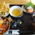 魚彦 - チョイス丼ランチ 肴屋 魚彦(静岡県磐田市)食彩品館.jp