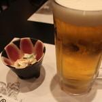 まる田 - ビール大ジョッキ H27.10