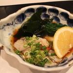 まる田 - かき ポン酢 H27.10