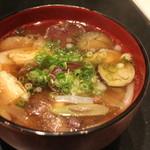 まる田 - きのこ汁 H27.10