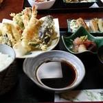 にしかね - 料理写真:天婦羅定食