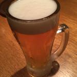 永秀 - 永秀(ながひで)都内渋谷区神泉町〜生ビール