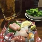 居酒屋 剛 - 晩酌セット  ¥1,000
