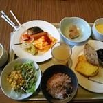 お茶の水ホテルジュラク - 朝から食欲全開♪(・Θ・)