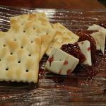 炭火イタリアン CARBO - ☆ドライ無花果とクリームチーズのコンポート&クラッカー☆