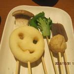 串家物語 - 2皿目、野菜がメインです
