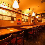 日本酒 かんき - テーブル席