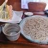 蕎麦はしもと - 料理写真:天ぷらざる 1,500円