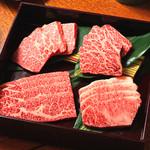 和食焼肉 いろりや - 黒毛和牛カルビ盛り