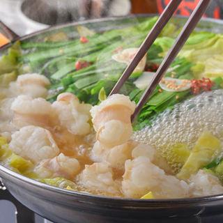 【宴会】博多もつ鍋と新鮮鮮魚
