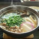 うどんのウエストリバア - 料理写真:鍋焼きうどん[\680]