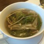 ボヌールポルテ - スープ