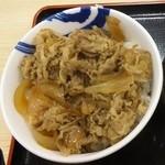 松屋 盛岡アイーナ店 - 牛めし(大・アップ)