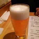 なぎ - 生ビール