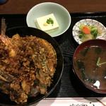 えび田 - 上天丼1290