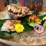壱厘酒蔵 - ほっき貝の刺身/生うに✩︎⡱