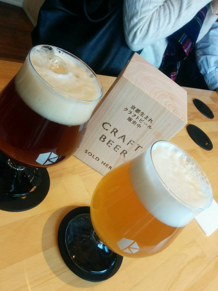 京都醸造株式会社 試飲スペース
