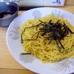 らーめんの超人 - 料理写真:冷やしつけ麺 650円