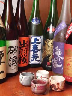 ROBATA 二代目 心 - 日本各地の地酒ご用意しております!!