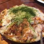 広島焼HIDE坊 - カキキムチチーズチャーハン
