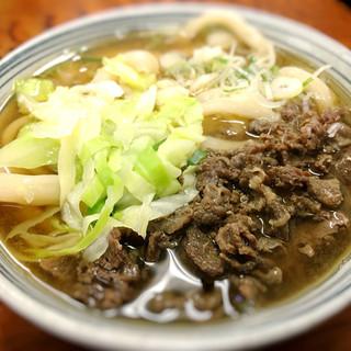 たけ川うどん - 料理写真:
