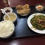 43953244 - (20151029)青椒牛肉絲定食