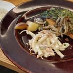 sakabasammaruni - 生秋鮭 厚切りステーキ
