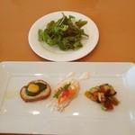 MARCO - 料理写真:1000円ランチの前菜美味しい