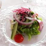 レストラン ラ・マーレ - サラダ