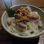 うけもち - 烏賊納豆。普通の味