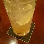 コーヒーバー ブルーマウンテン - イタリアンソーダ900円