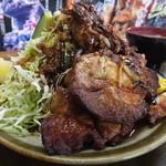 味の店 さつき - 豚ロース・スタミナ焼 税込¥1500
