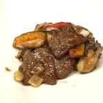 Szechwan Cuisine & Wine 御馥 - 牛肉の炒め物