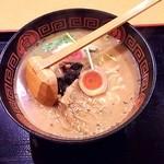 43957822 - 鰻ラーメン(醤油味)