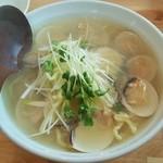 さくら - ラーメンさくら@那須塩原 極上はまぐり潮麺・太麺