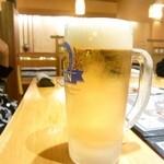 43959157 - 生ビール通常530円(税別)