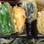 嘉津味屋 - 天ぷらアップ