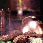 道灌かがり - 料理写真:人気No.1鉄板焼きハンバーグランチ
