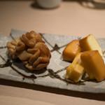 四季のバル - 燻製(真白子とチーズ)